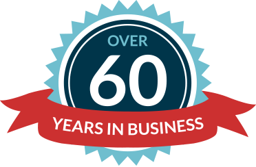 Over 60 years in Business