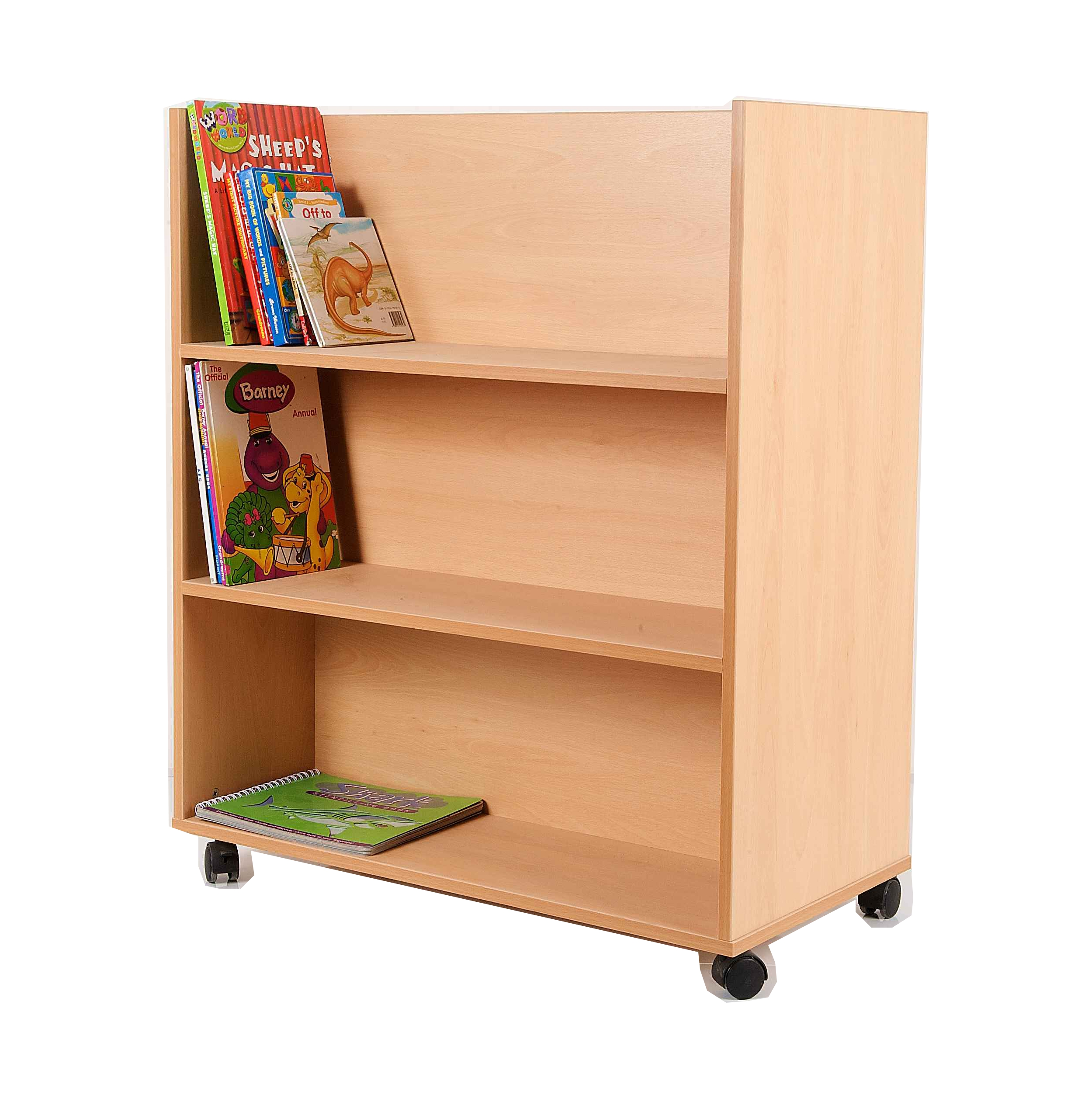 white furniture low double design shelves book corner wood bookshelf bookcase cherry long small sided