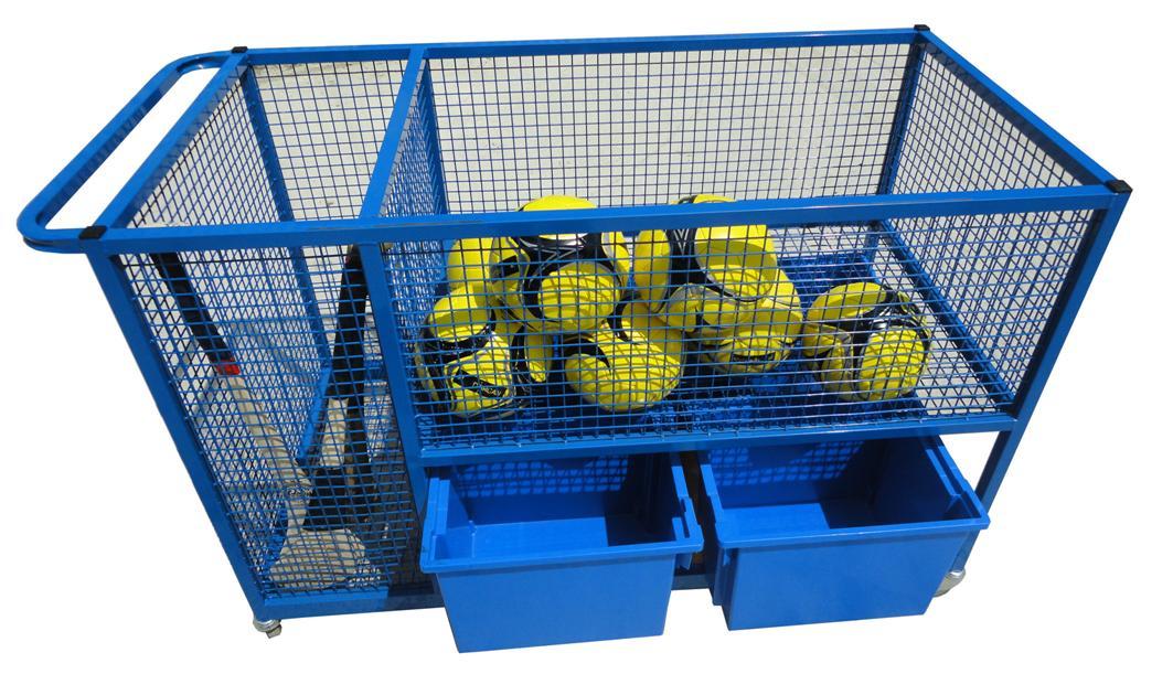 Gym Equipment Storage Trolley