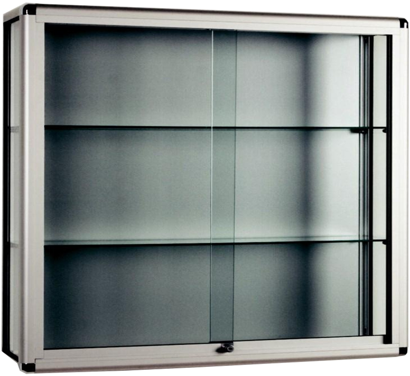 Bon Wall Mounted Glass Display Cabinet