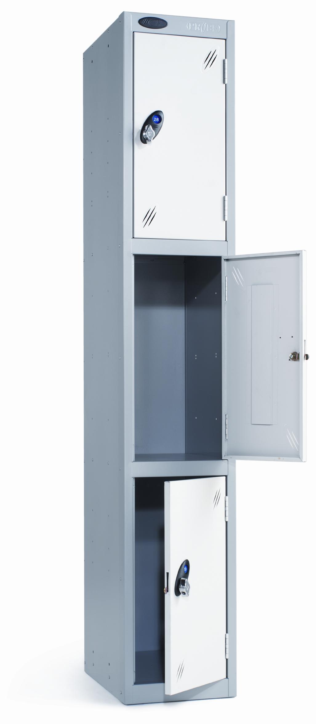 Probe three door locker peter walsh sons for 12 door lockers