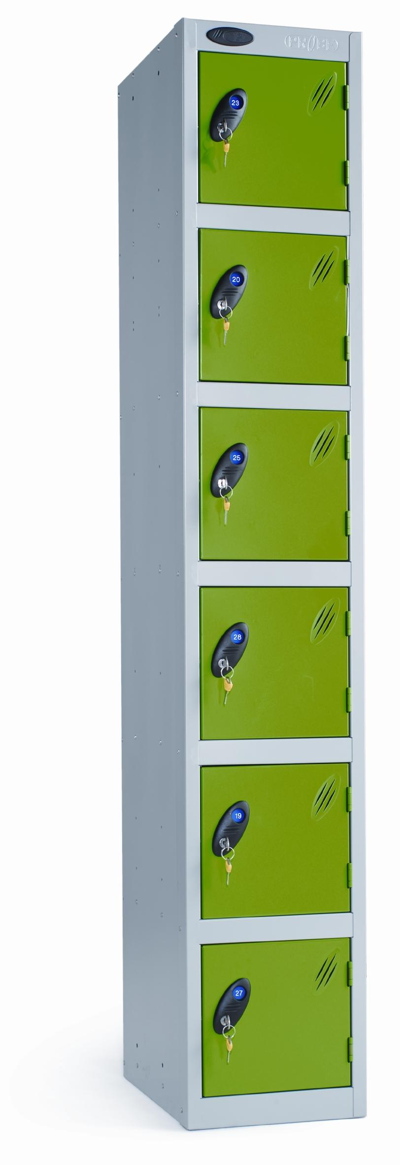 Probe 6 door locker peter walsh sons for 12 door lockers
